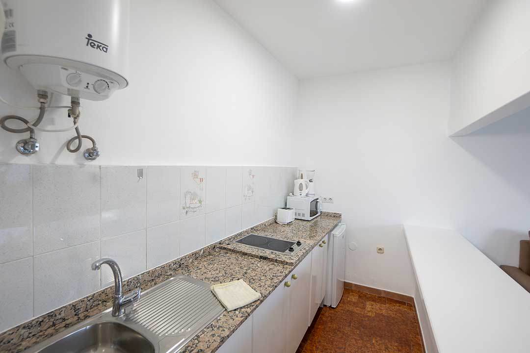 Kitchen of 1 Bedroom Standard Apartments.