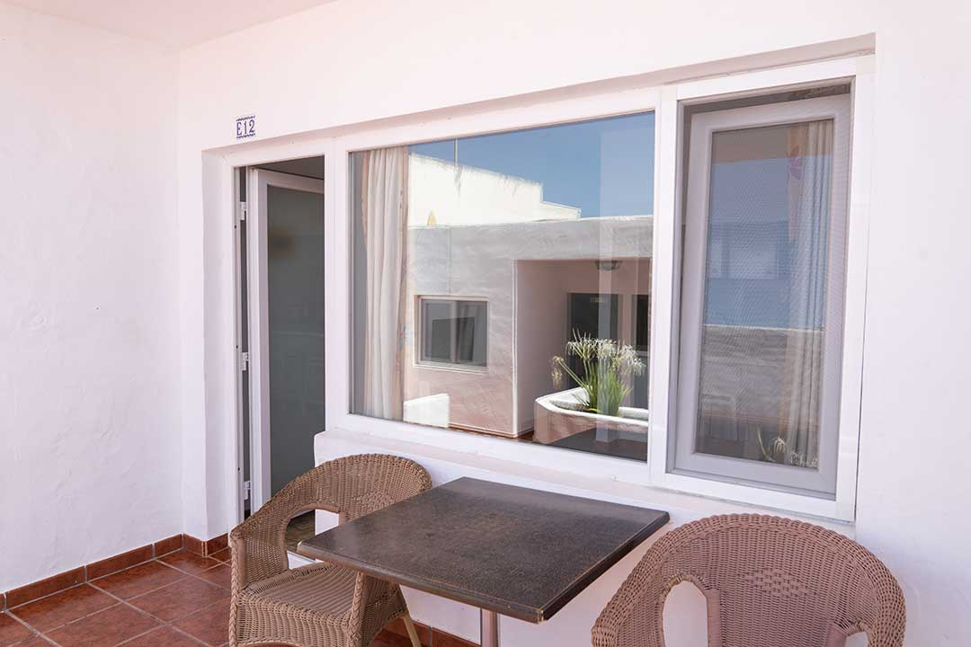 Terrace or balcony of 1 Bedroom Standard Apartment.